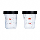 3M PPS Large Mixing Cup and Collar 16023